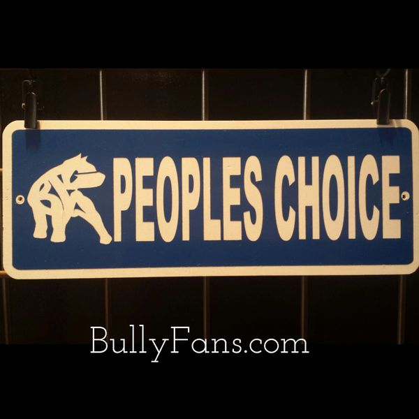 People's Choice kennel sign !! SALE !!