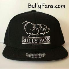 Bully Fans Logo Black Snapback