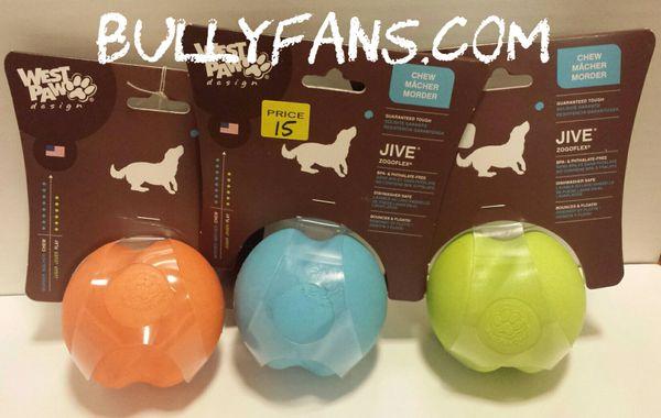 Jive Dog Ball - 3.25 inch