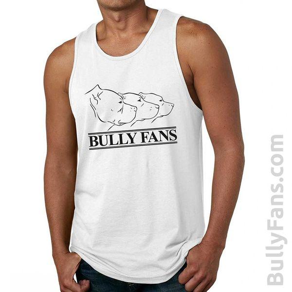 Bully Fans Logo Tank Top - WHITE