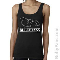 Bully Fans Logo LADIES Tank Top - BLACK