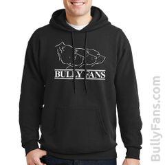 Bully Fans Logo Hoodie - Black