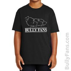 Bully Fans Logo YOUTH T-shirt - Black