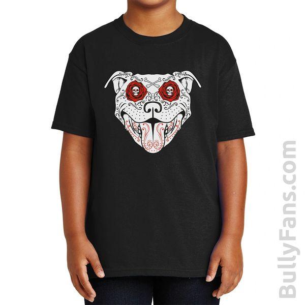 Bully Fans Bully De Los Muertos YOUTH T-Shirt - Black