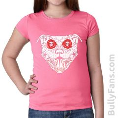 Bully De Los Muertos YOUTH T-shirt - Pink