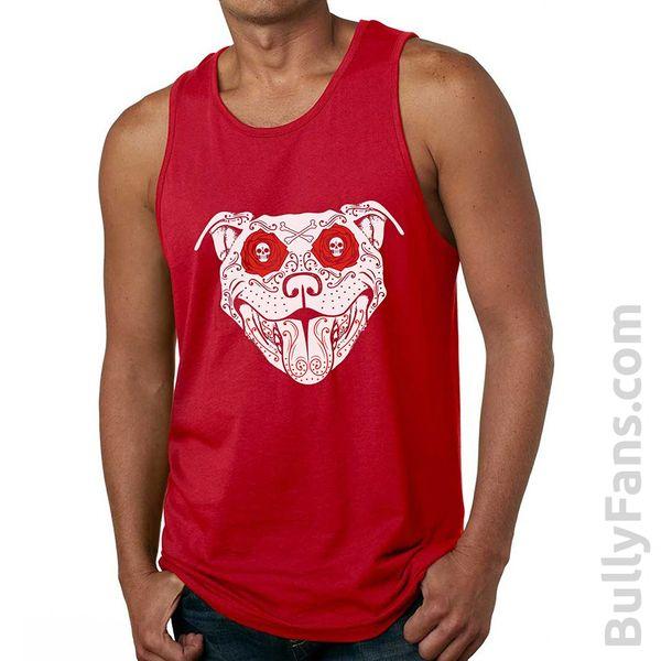 Bully Fans Bully De Los Muertos Tank Top - Red