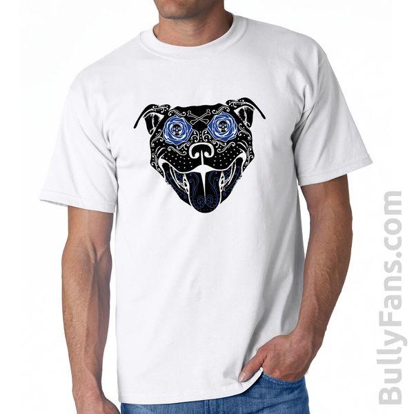 Bully Fans Bully De Los Muertos T-Shirt - White