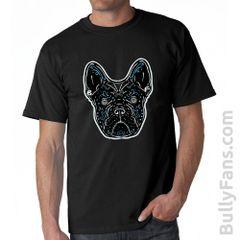 Bully Fans De Los Muertos T-Shirt - Black Frenchie