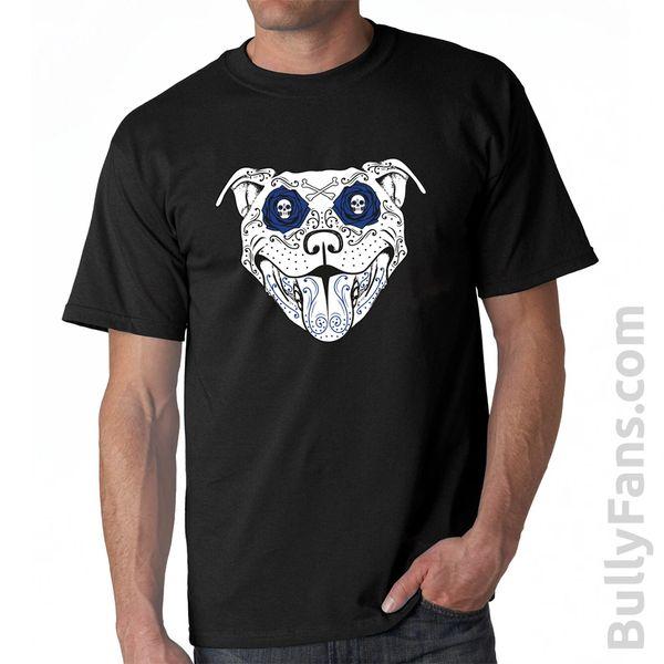 Bully Fans Bully De Los Muertos T-Shirt - Black