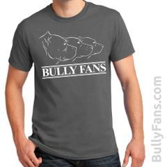 Bully Fans Logo T-shirt - GRAY