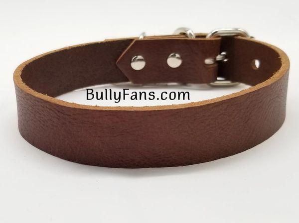 1 inch Leather Dog Collar