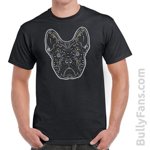 Bully Fans Gray Frenchie DeLosMuertos Tshirt