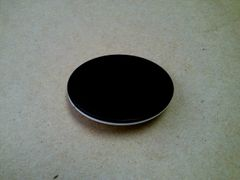 Accessory / Part: SC5SPBW - Stage Plate - Black/White, (75mm)