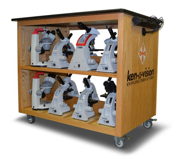 Microscope Charging Cart 300-001-000