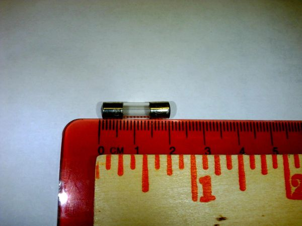Accessory / Part: SCFUSE - Fuse 5X20mm, .50 Amp