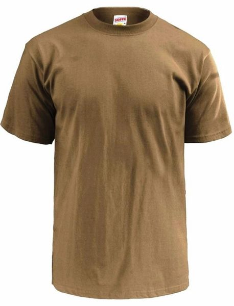 b4cef1ba Army Brown Mens T-Shirt 3pk Soffe 682M Dri Cotton Military Tactic |  Military Tactical Gear Clothing, Coins, Backpacks, Emergency Kits