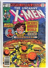 The Uncanny X-men #123 1979 Comic Spider-Man App. (F/VF)