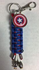 Captain America Handmade Keychain