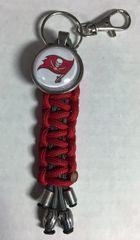 Tampa Bay Buccaneers Handmade Keychain