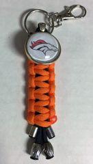 Denver Broncos Handmade Keychain