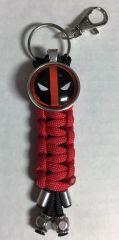 Deadpool Handmade (Red) Keychain
