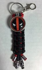 Deadpool Handmade (Black) Keychain
