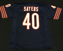 Gale Sayers HOF Chicago Bears Replica Home Jersey Size XL