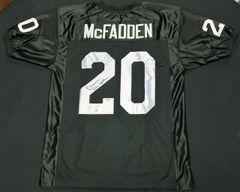 Darren McFadden Raiders Autographed Jersey AAA COA