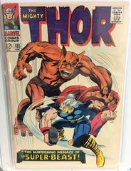 The Mighty Thor #135 1966 Comic (G+)