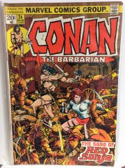 Conan The Barbarian #24 1972 Comic (VG+) (1st app of Red Sonja) (KEY)