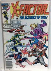 X-Factor #5 1986 Comic (VF+) (1st Apocalypse Cameo)