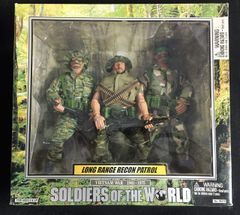 Soldiers of the World Vietnam War 1961-1975 Long Range Recon Patrol Figurine Set
