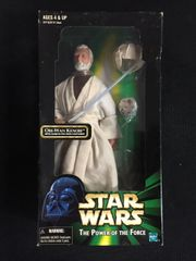 "Obi-Wan Kenobi 12"" Star Wars Figure (Hasbro 1998)"