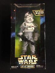 "At-At Driver 12"" Star Wars Figurine (Hasbro 1997)"