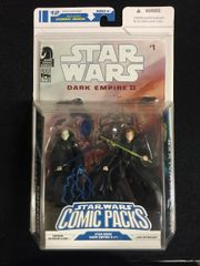 "Star Wars Comic Packs Emperor Palpatine Clone & Luke Skywalker ""Dark Empire II #1"" Comic (2008)"
