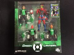 Green Lantern Box Set Of Firguines and Comic DC Direct