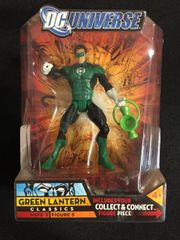 Green Lantern DC Universe Classic Series 3 Figurine With Collect & Connect Figure Piece