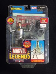 Marvel Legends First Appearance IRON MAN (Silver) Mojo Series 2006 With Comic