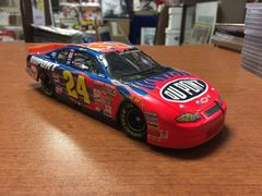 Jeff Gordon #24 DuPont Las Vegas Win Monte Carlo Bank