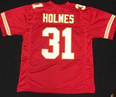 Priest Holmes Replica Home Kansas City Chiefs XL Jersey
