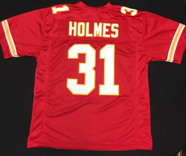 new styles cd979 635ea Priest Holmes Replica Home Kansas City Chiefs XL Jersey