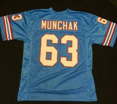 Mike Munchak Replica Home Houston Oilers XL Jersey