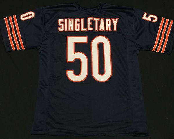new concept b1ca5 6507e Mike Singletary Replica Home Chicago Bears XL Jersey