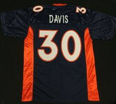 Terrell Davis Replica Home Denver Broncos XL Jersey