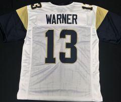 Kurt Warner Replica Away St Louis Rams XL Jersey