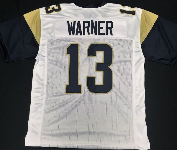 pretty nice 964e7 8fa35 Kurt Warner Replica Away St Louis Rams XL Jersey