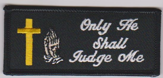 Only He Shall Judge