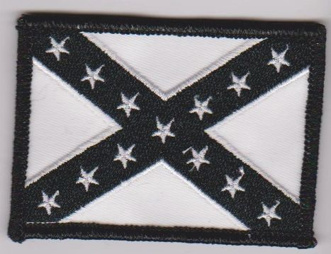 Black Confederate Flag