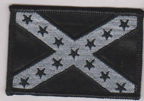 Confederate Flag Black
