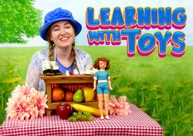 Inspire young children to learn languages with the Learning With Toys educational video series.